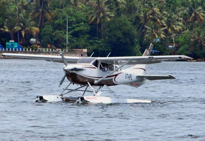 First seaplane service takes off from Mumbai