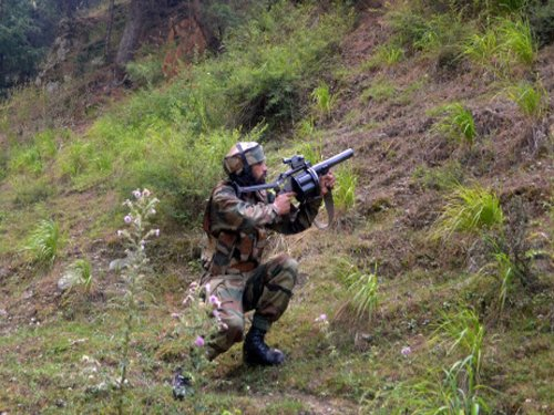 Jawan, ultra killed in J&K encounters