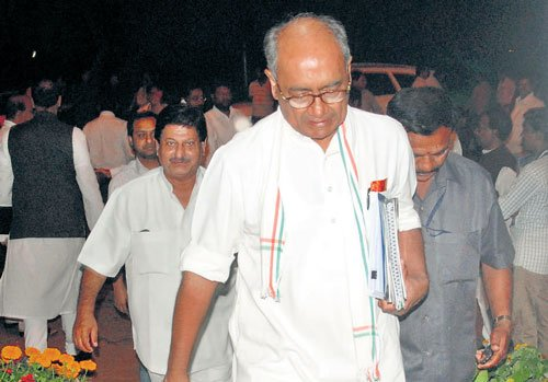 Digvijay Singh to chair State Cong meet today