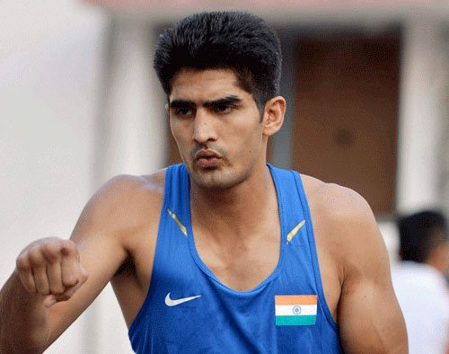 Injury forces Vijender to take a break, out of Asiad