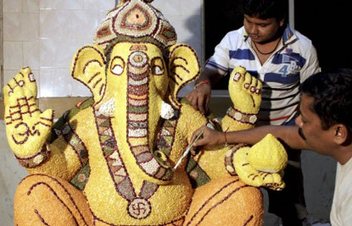 Eco-Ganeshas find an export market