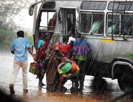 Rains pound N-K, hit road connectivity