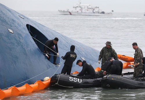 Captain blames company for South Korean ferry disaster