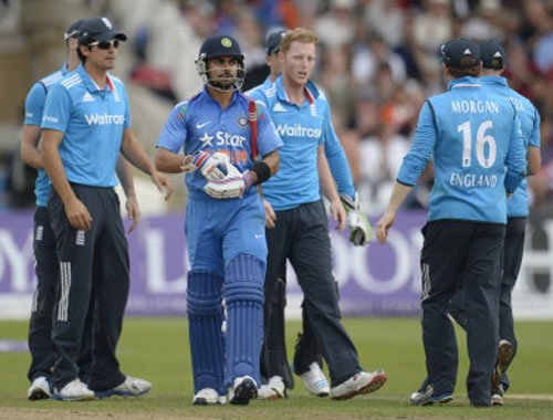 Kohli-Stokes in a verbal spat in 3rd ODI