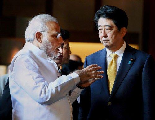 Japan PM Abe dividing China, India: Chinese daily