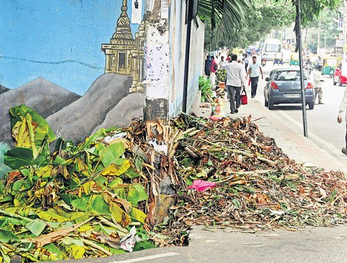 Markets in City stink as festival waste piles up