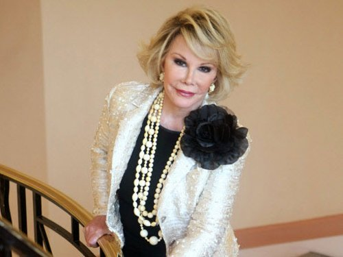Fabulous if I die during a cosmetic surgery: Joan Rivers