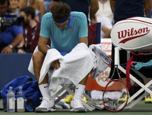 Nishikori, Cilic upsets rock U.S. Open