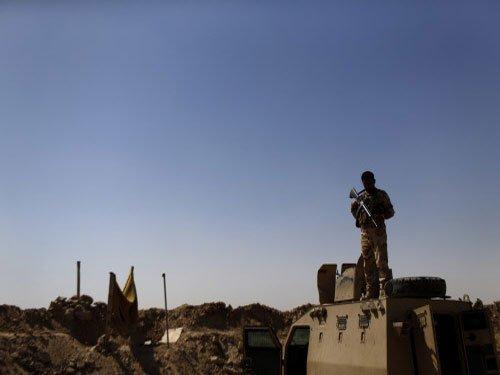 US launches first strikes in Iraq Sunni Arab heartland