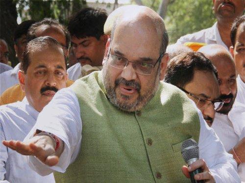 Saradha scam: Amit Shah targets Mamata