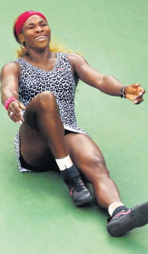 Imperious Serena waltzes to title