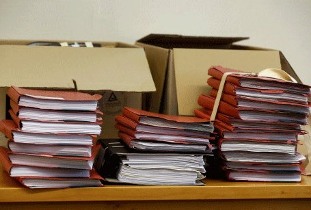 35,018 files cleared after drive