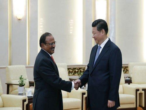 Chinese president meets Modi's envoy