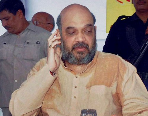 Court returns charge sheet against Amit Shah to police