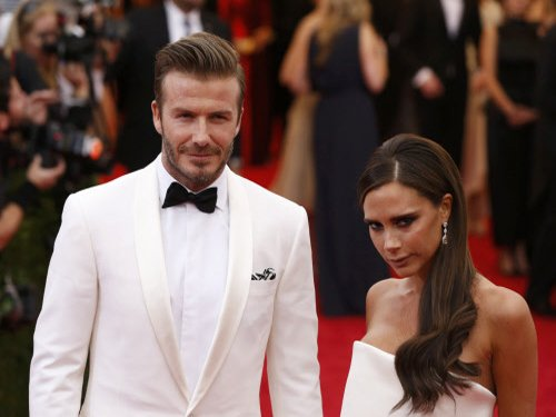 David Beckham can't compete with Victoria over fashion