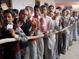 Voting in bypolls for 3 LS, 33 assembly seats
