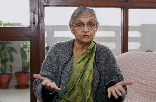 Dikshit sticks to her position on Delhi govt formation issue