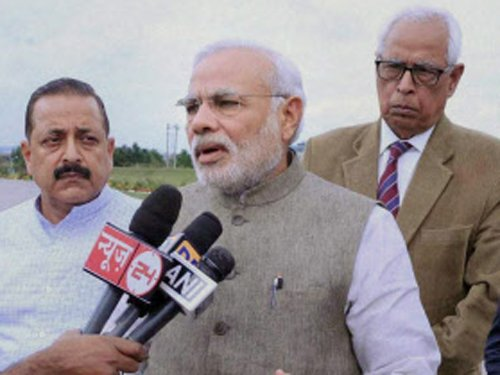 Don't celebrate my b'day, instead help in J-K relief work: PM