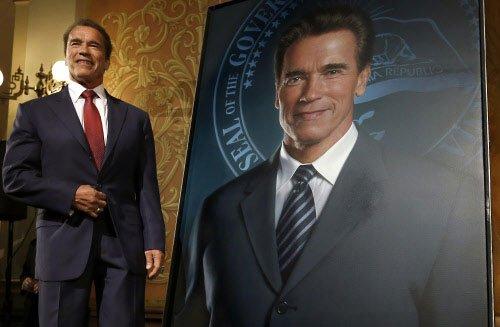 Arnold Schwarzenegger in Chennai for 'I' audio launch