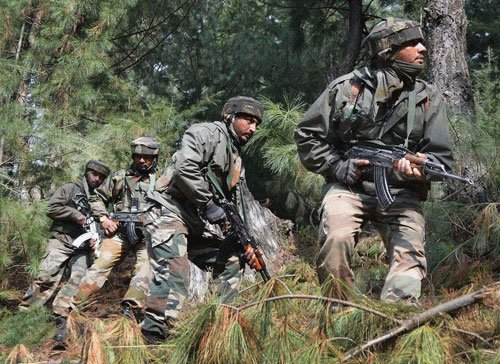 Two militants killed in encounter near LoC