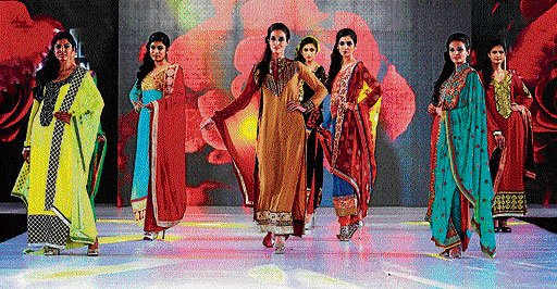 Glamour and panache at fashion do
