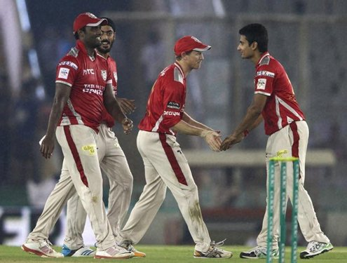 Kings XI Punjab beat Barbados Trident by four wickets in CLT20
