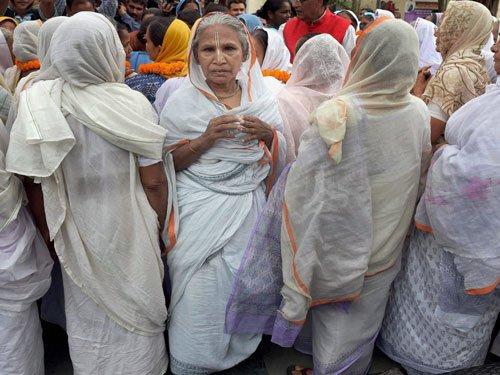 Vrindavan widows to celebrate Durga Puja in WB