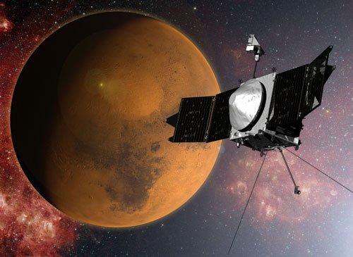 NASA spacecraft set to enter Mars orbit Sunday night