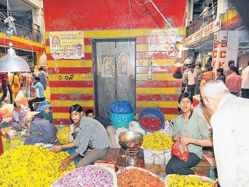 KR Market lacks fire safety measures