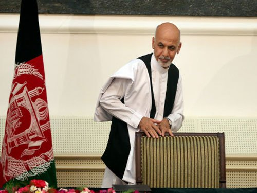 Ghani is Af Prez, to share power with rival