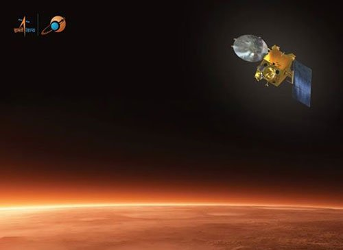 Final moments of of Mangalyaan - live from ISRO