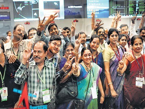 We beat odds to make history, says Modi