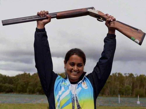 Indian women bag bronze in double trap shooting