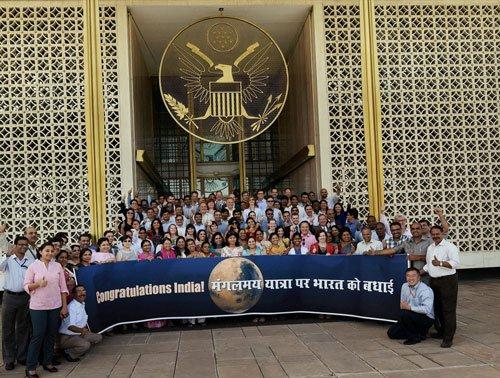 Investors see 'Mangalyaan success' as India growth story model
