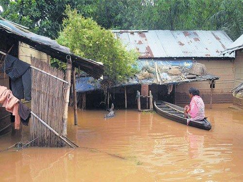 33 killed, 8 lakh affected in Assam floods
