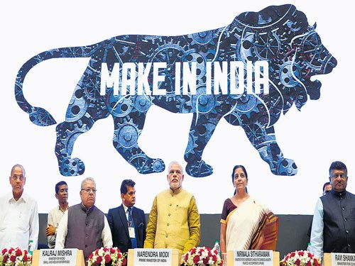 Modi launches Make in India, promises radical changes