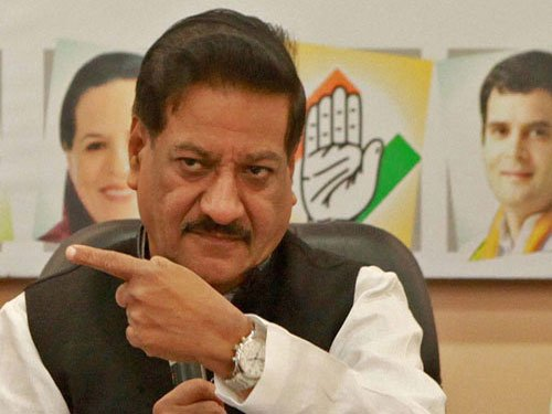 BJP demands sacking of Cong govt, Central rule in Maha