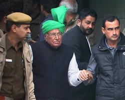 Teacher recruitment scam: HC directs Chautala to surrender