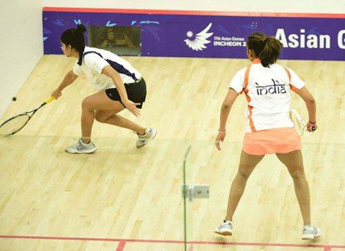 Indian women's squash team settles for silver