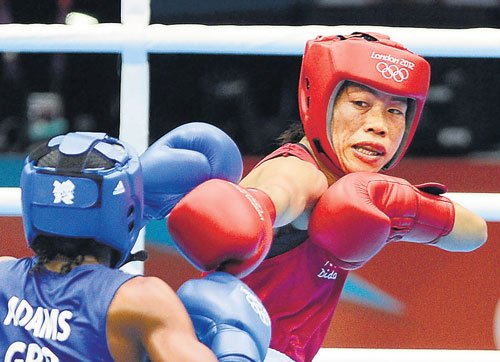 Asiad boxing: Mary Kom, Sarita and Pooja in quarters