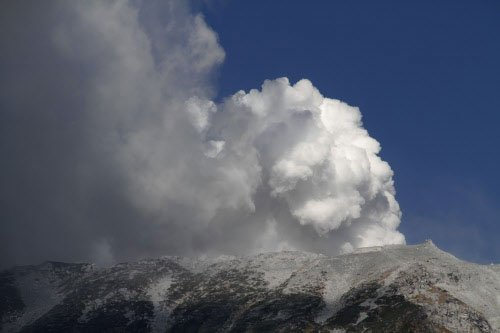 7 rescued, 32 missing as volcano erupts in Japan