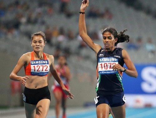 Asian Games: Rajiv, Povamma win bronze in men and women's 400m