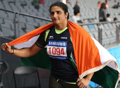 Seema Punia clinches first athletics gold in Asian Games