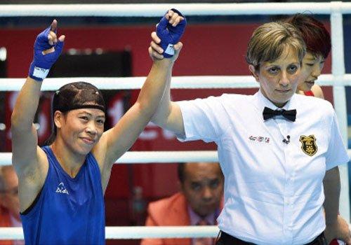 Mary in final, Sarita robbed of win at Asian Games