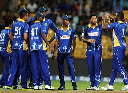 Tridents register consolation win against Knights