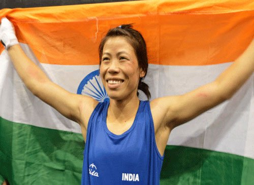 Magnificent Mary gives India first boxing gold at 17th Asiad