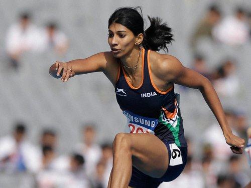 Ashwini fails to defend women's 440m hurdles title