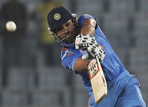 Injured Rohit set to miss West Indies limited-overs leg