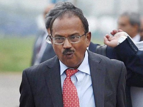 Doval meets Kerry and Rice; discusses security cooperation