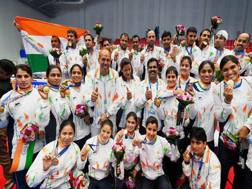 Kabaddi golds prop India in Asiad, total haul at 57